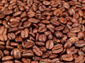 Whole Coffee Beans Royalty Free Stock Photography