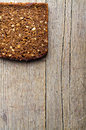 Whole grain brown bread. Royalty Free Stock Photo