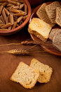 Whole grain carbohydrates Stock Image