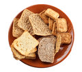 Whole grain carbohydrates Stock Photography