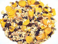 Whole grain muesli Stock Photography