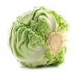 Whole green cabbage Royalty Free Stock Images