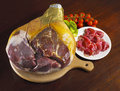 Whole italian ham prosciutto crudo di parma Royalty Free Stock Photography