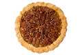 Whole Pecan Pie Stock Photography