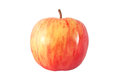 Whole red apple isolated with clipping path Royalty Free Stock Photo
