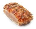 Whole roasted pork Royalty Free Stock Photo