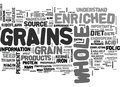 Whole Versus Enriched Grains What S The Difference Word Cloud