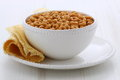 Whole wheat cereal loops Royalty Free Stock Images