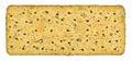 Whole wheat cracker Royalty Free Stock Photo