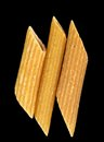 Whole wheat penne pasta Royalty Free Stock Photo