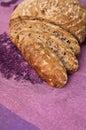 Wholegrain bread freshly baked homemade Royalty Free Stock Photo