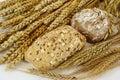 Wholegrain buns Royalty Free Stock Photo