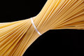 Wholegrain spaghetti pasta Royalty Free Stock Images
