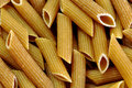 Wholemeal penne pasta Royalty Free Stock Photo