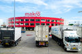 Wholesale siam makro public company limited is large to distribution of consumer products at prices thailand Stock Image