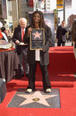 Whoopi goldberg actress on hollywood blvd where she was honored with the th star on the hollywood walk of fame today is also her Stock Photography
