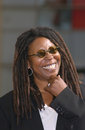 Whoopi goldberg actress on hollywood blvd where she was honored with the th star on the hollywood walk of fame today is also her Royalty Free Stock Images