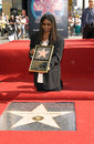 Whoopi goldberg actress on hollywood blvd where she was honored with the th star on the hollywood walk of fame today is also her Stock Image