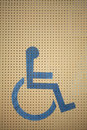 Whwwlchair sign we found many in every where wheelchair is speciel equipment for support some people can t help by self Stock Images
