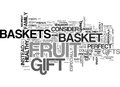 Why Fruit Baskets Make A Good Gift Word Cloud