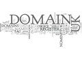 Why Register Uk Domains Word Cloud
