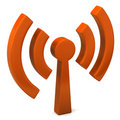 Wi-fi icon Royalty Free Stock Photography