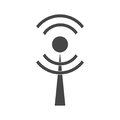 Wi-Fi Icon on white background
