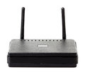 Wi-fi router close-up Royalty Free Stock Photo