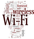 Wi-Fi / Wireless Stock Image