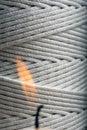 Wick cord Stock Image