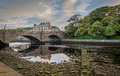 Wick river running through caithness scotland Stock Photo