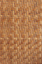 Wicker background detail of a basket Royalty Free Stock Image