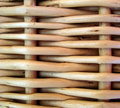 Wicker basket. Background. Stock Image