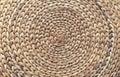 Wicker basket of reed rod. Background from wicker basket