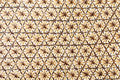 Wicker basket weave surface for background Royalty Free Stock Photo