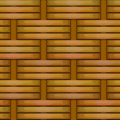 Wicker basket weaving pattern seamless texture Royalty Free Stock Images