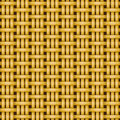 Wicker basket weaving pattern seamless texture Royalty Free Stock Photo
