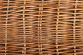 Wicker basket work on side of the Royalty Free Stock Photos