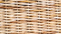 Wicker chair detail macro photo of a Royalty Free Stock Photos