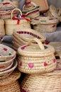 Wicker handicrafts Royalty Free Stock Photo