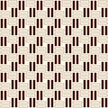 Wicker Outline Seamless Patter...