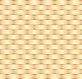 Wicker pattern seamless illustration Stock Images