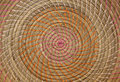 Wicker placemat beige straw texture Stock Photography