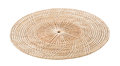 Wicker placemat isolated