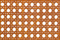 Wicker Rattan Weaved Pattern Background Royalty Free Stock Photography