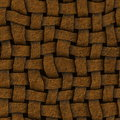 Wicker seamless texture Royalty Free Stock Photography