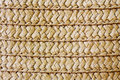 Wicker straw texture. Royalty Free Stock Photo