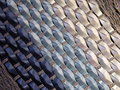 Wicker surface texture suitable as background Royalty Free Stock Photos