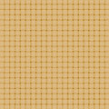 Wicker surface wattled in yellow color weaving by straws Royalty Free Stock Photo