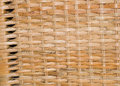 Wicker texture detail of wall basket Stock Photos
